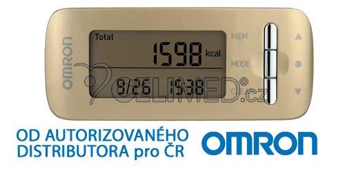 Monitor kalorické spotřeby Omron Caloriscan - zlatý (HJA-306-EGD)