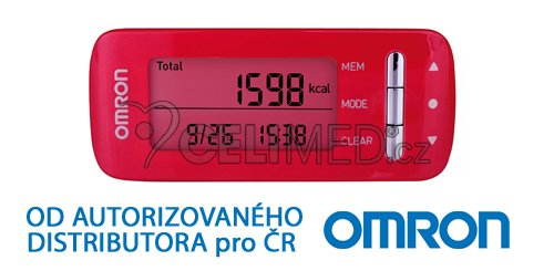 Monitor kalorické spotřeby Omron Caloriscan - růžový (HJA-306-EPK)
