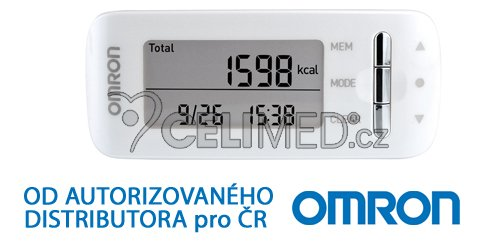 Monitor kalorické spotřeby Omron Caloriscan - bílý (HJA-306-EW)