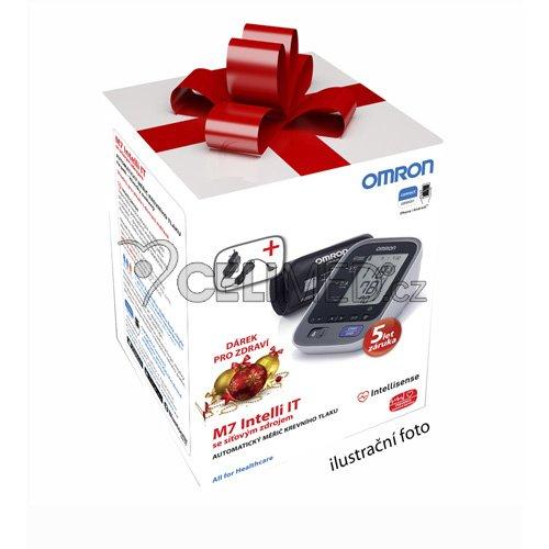 Tonometr OMRON M7 Intelli IT s bluetooth připojením na Android/iOS zařízení +zdroj (SET)