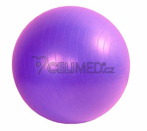 Míč GYMY ABS zesílený - fialový, průměr 65 cm