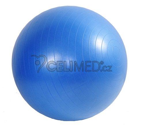 Míč GYMY ABS zesílený - modrý, průměr 75 cm