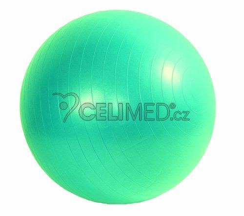 Míč GYMY ABS zesílený - zelený, průměr 75 cm