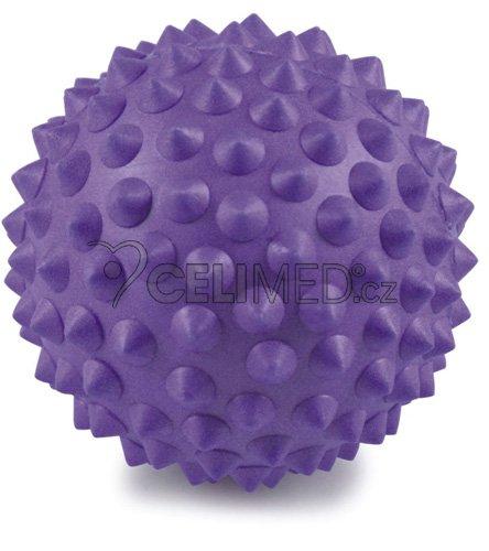 Míček Gymy masážní s výstupky, průměr 9cm -fialový