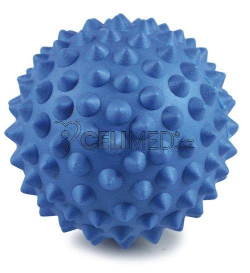 Míček Gymy masážní s výstupky, průměr 9cm -modrý