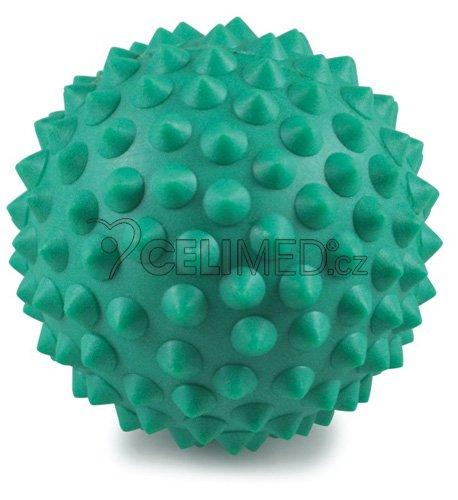 Míček Gymy masážní s výstupky, průměr 9cm -zelený