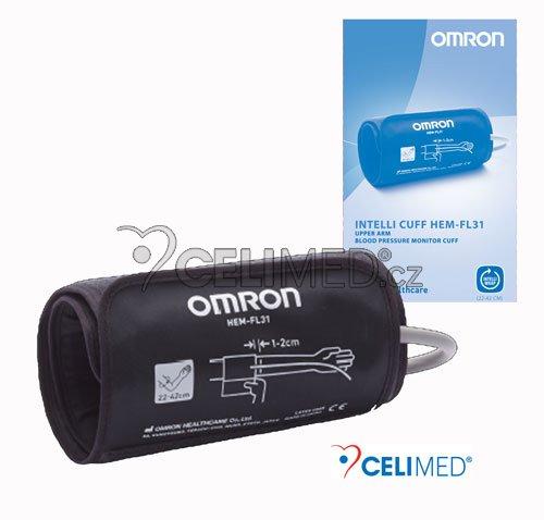 Manžeta Omron Intelli IC (černá), vytvarovaná 22-42cm