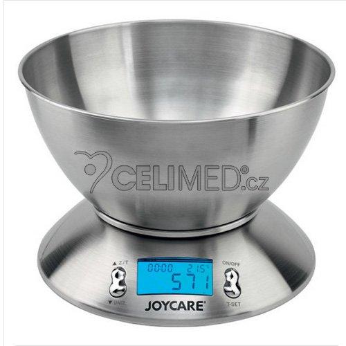 Kuchyňská elektronická váha na potraviny JOYCARE JC-406 nerez