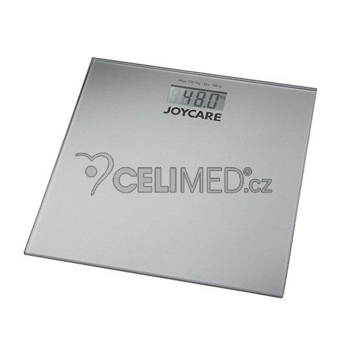JOYCARE JC-324S Osobní váha, barva stříbrná
