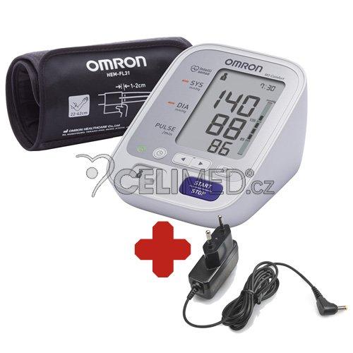 Tonometr OMRON M3 Comfort +ZDROJ (SET)