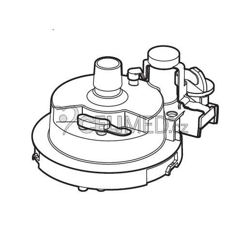 Kryt medikačního tanku pro dlouhodobou nebulizaci pro NE-U780