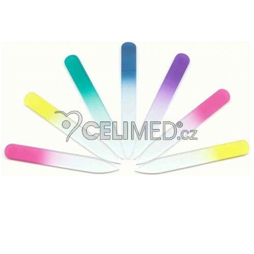 135/2/2/C Pilník skleněný, color 135 mm