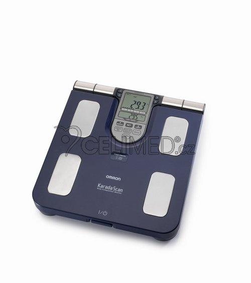 OMRON BF511-B monitor sklady lidského těla s lékařskou váhou