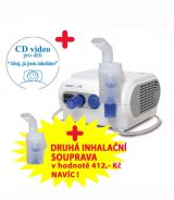 Inhalátor OMRON C28P (SET)