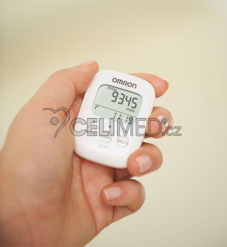 9f2869e94 OMRON HJ-325-EW Walking Style IV krokoměr -bílý