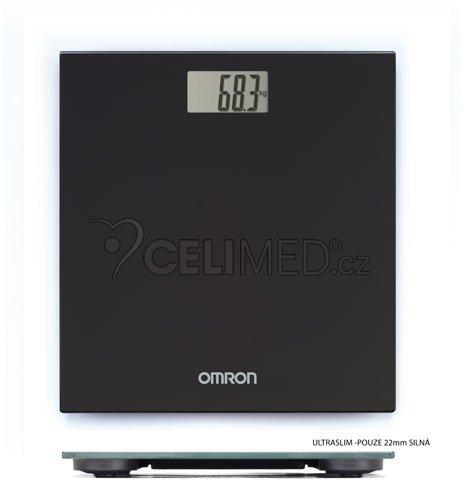 OMRON HN 289-EBK Osobní váha, černá