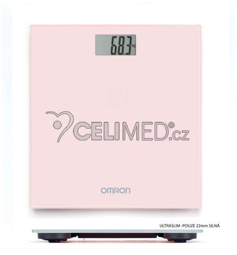 OMRON HN 289-EPK Osobní váha, světle růžová