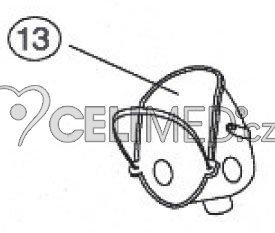 Maska pediatrická (dětská) -JC114