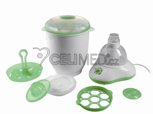 Multifunčkní pomocník pro přípravu stravy , vč. sterilizátoru 5v1 JOYCARE JC-221