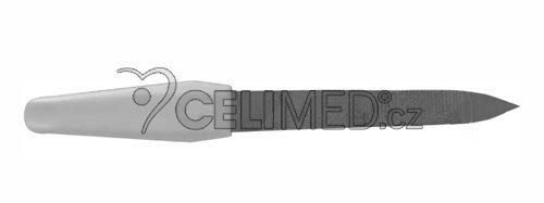 JV-2012/M Pilník kovový-sekaný, 10,5 cm