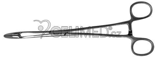 16-110-25 Podávky (Tampónové kleště) , rovné, se zámkem 26 cm