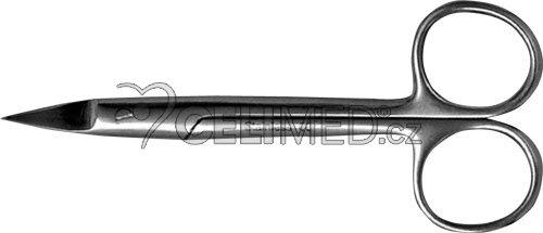 08-850-10 Nůžky na velmi silné nehty, rovné 12cm