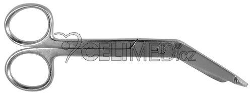 Nůžky na obvazy - Lister 14 cm
