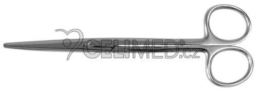 7-0100 Chirurgické nůžky MAYO-LEXER zahnuté, tupé 16 cm