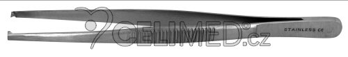 SG-208 Pinzeta jemná chirurgická, 1x2 zoubky 12 cm