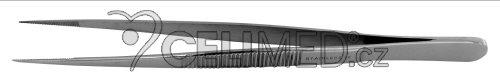 SG207 Pinzeta anatomická, špičatá na třísky 14 cm