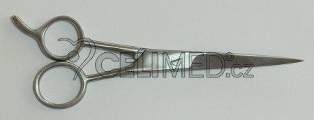 SI-009 Nůžky na vlasy, s opěrkou, hrotnaté 15 cm