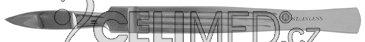 3-0018-10 Skalpel hrotnatý, 20 mm