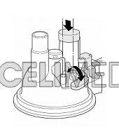 Kryt medikačního tanku -pro dlouhodobou nebulizaci -NE-U17