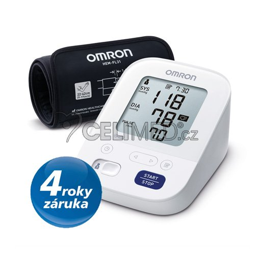 Omron M3 Comfort INTELLI_4roky_small