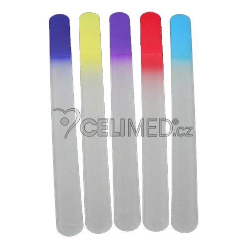 195/4/2/C Pilník skleněný, color 195 mm