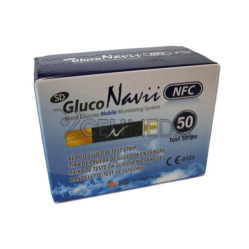 Testovací proužky pro SD GlucoNavii NFC 50ks