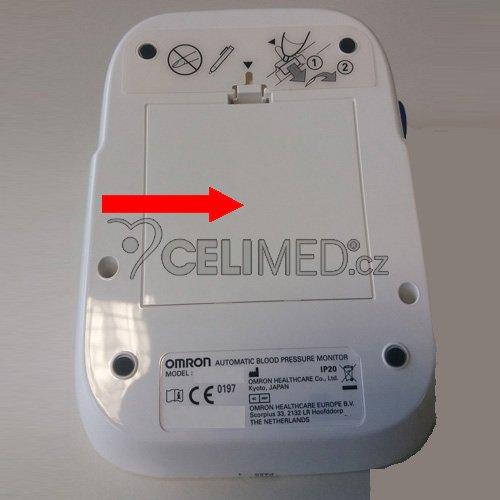 Bateriový kryt pro tonometr HEM-7xxx